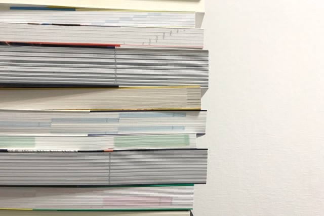 【無線綴じオフセット印刷の激安価格】大部数、大量ページの冊子印刷