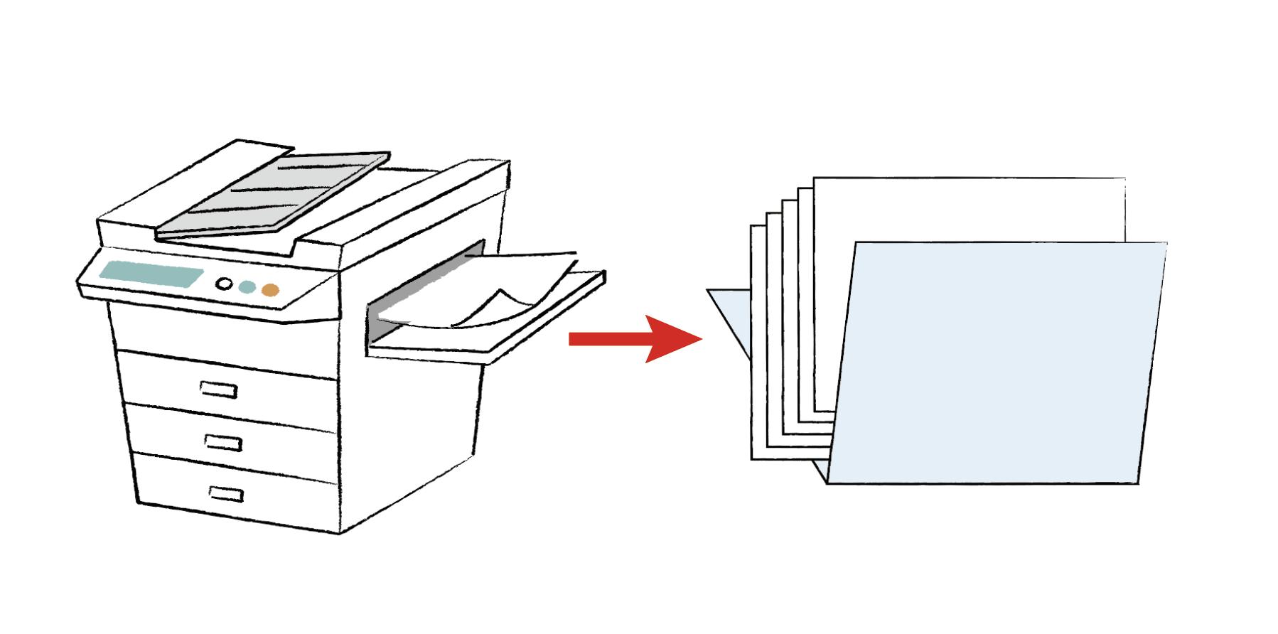 オンデマンド印刷の納期