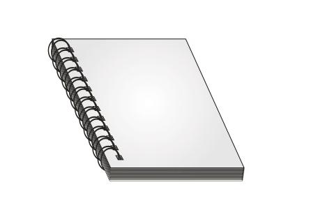 リング製本のデータ作成方法【メモ帳、天綴じのカレンダー】